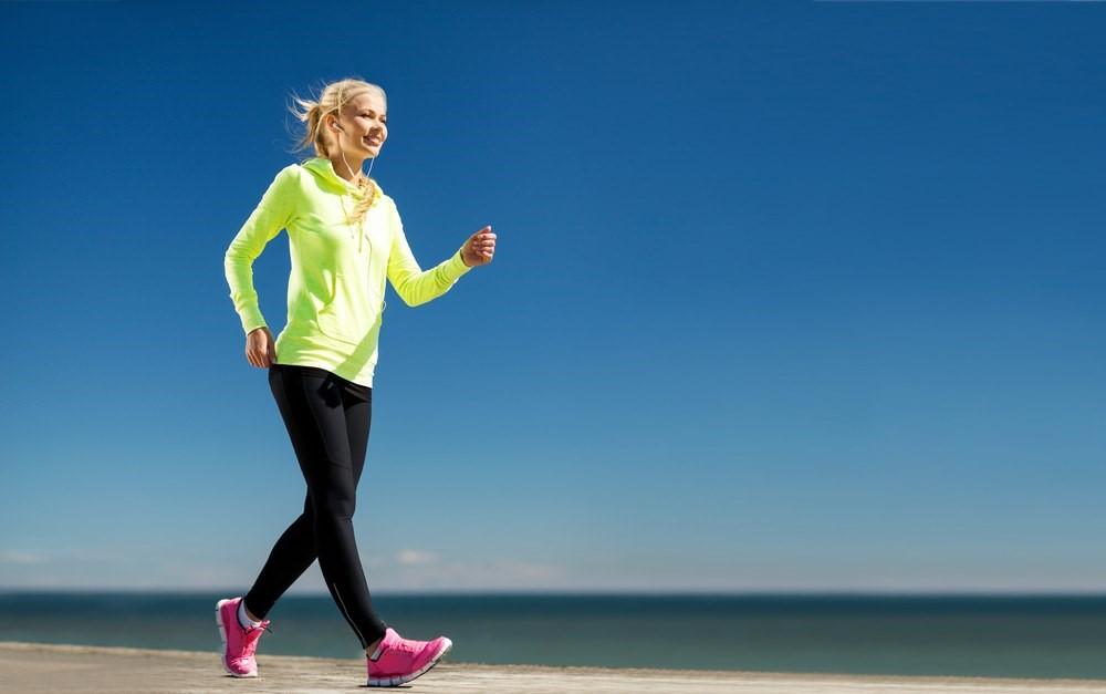 giảm mỡ bụng dưới bằng cách đi bộ