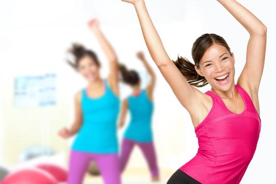 Tập Aerobic giảm mỡ bụng - lắc eo