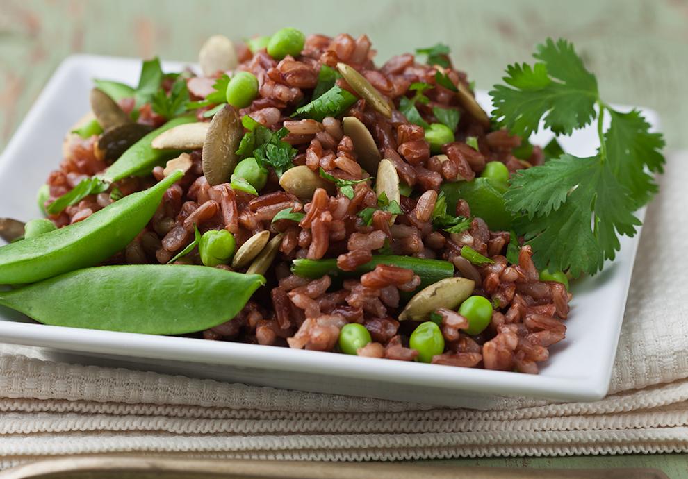 giảm cân sau sinh bằng gạo lứt